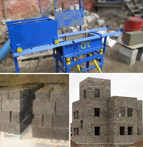 Опилобетон – не супер новая идея, но довольно действенная, особенно хороша для малых строительных объектов в виде бань, капитальных гаражей или пристроив в индивидуальном строительстве.