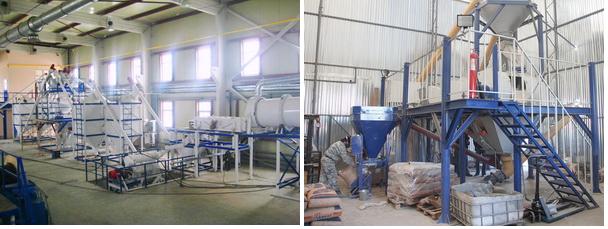 Производство сухих строительных смесей: открытие мини завода
