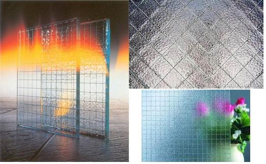 Производство армированного стекла.