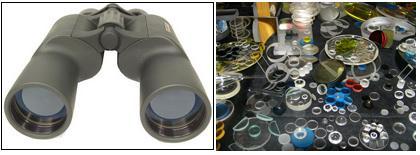 Производство оптического стекла.