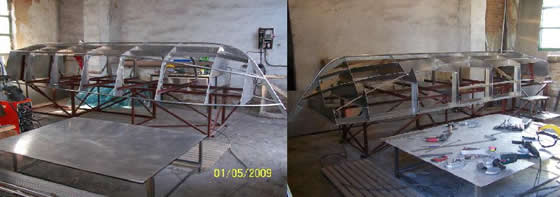 производство алюминиевой лодки