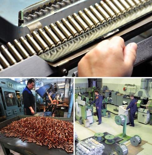 Бизнес производство патронов для поставки в оружейные магазины
