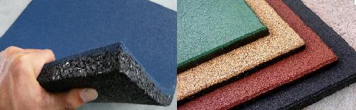 Мини бизнес: производство плитки из резиновой крошки