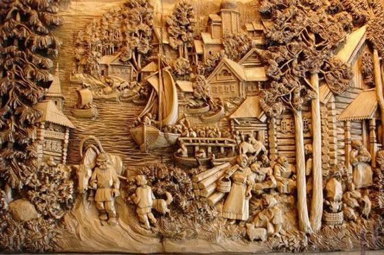 Резьба по дереву - бизнес ремесло