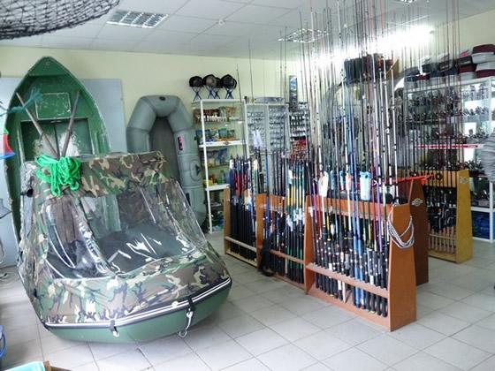 рыбацкие магазины в туле