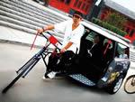 Велотакси – летний бизнес в центре города