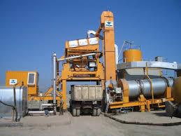 Открытие мини завода по производству асфальта