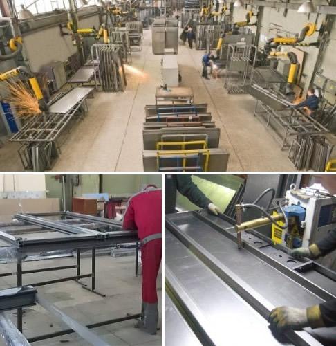 железные двери завод металлоконструкций