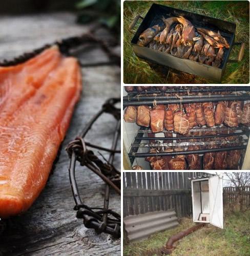 Коптильни для мяса в домашних условиях 988