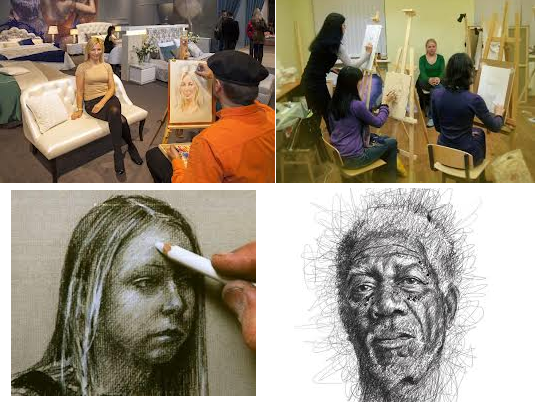 Искусство за деньги, или как я начала зарабатывать на рисовании портретов