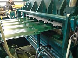 некоторые линии позволяют выпуска 2 вида продукции: металлочерепицу и профлист