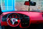 Флокирование - салон автомобиля