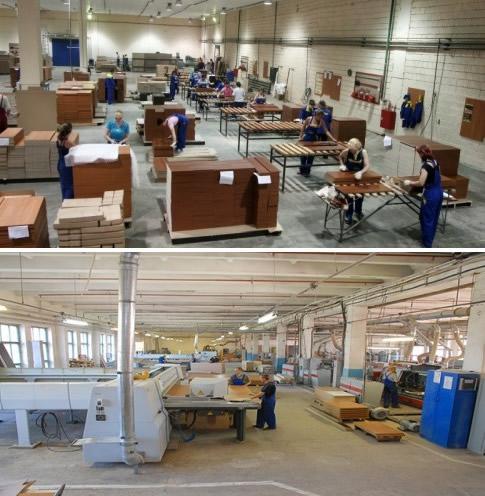 Организация цеха по производству мебели
