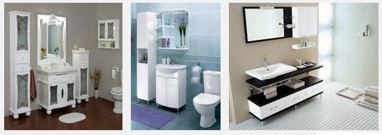 Мебель для ванных комнат.