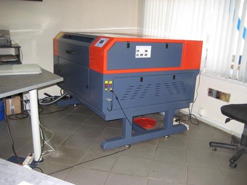 Оборудование для лазерной гравировки.
