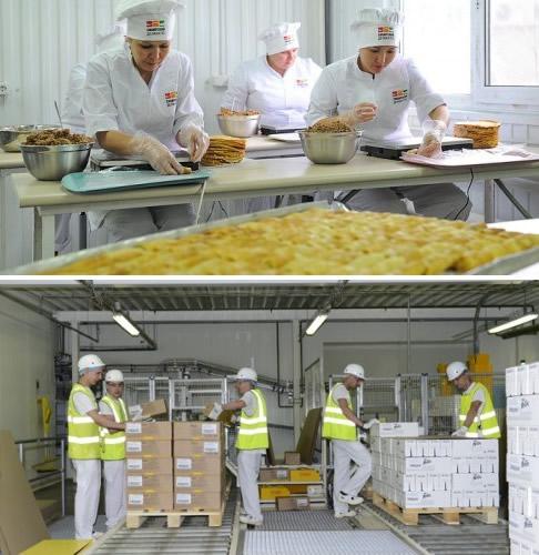 Персонал пищевого производства.