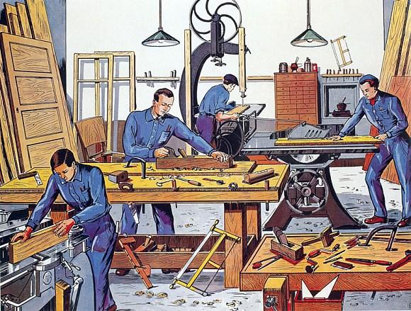Бизнес столярная мастерская: производство изделий из дерева