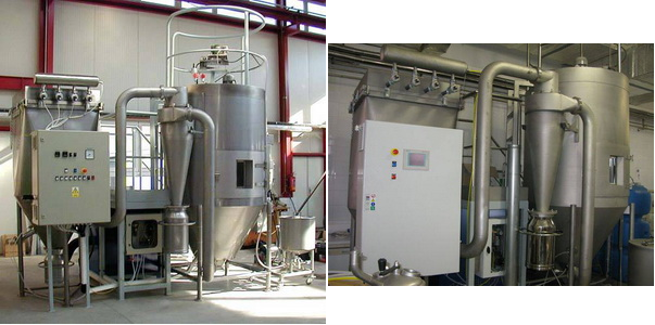 Оборудование для производства сухого молока.