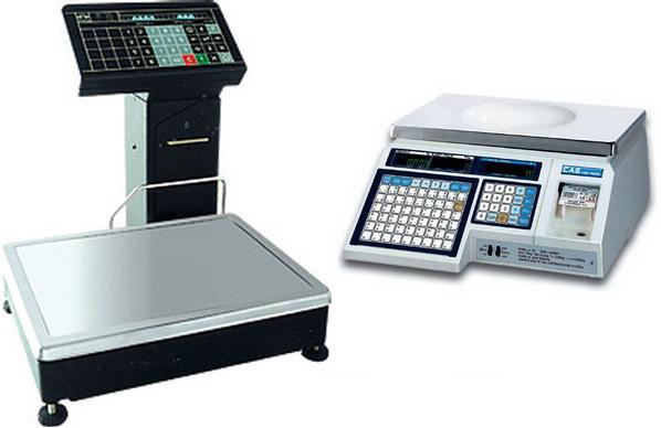 Для взвешивания конечного продукта и печати этикетки необходимы электронныетермопечатающие весы.